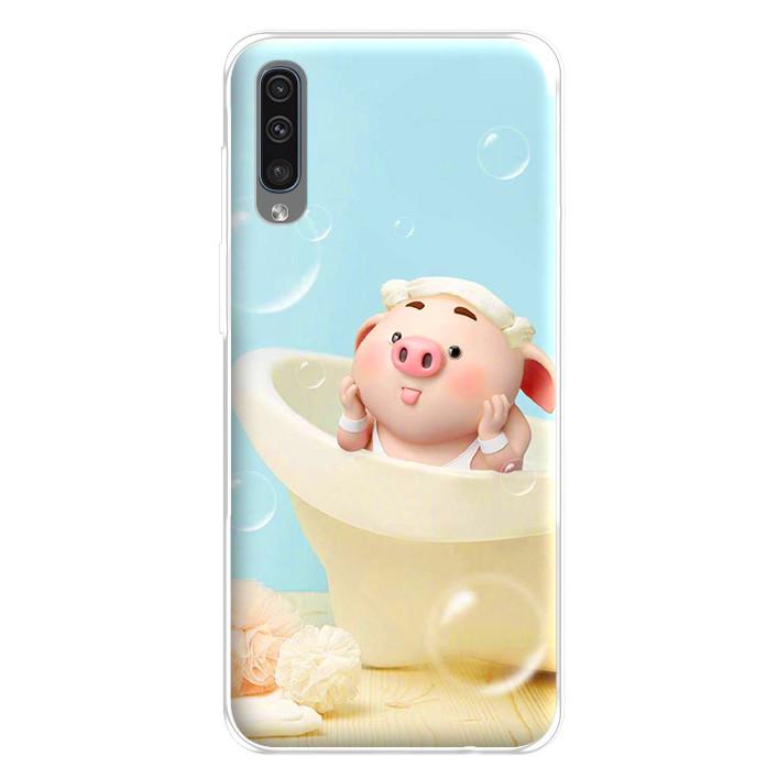 Ốp lưng dẻo cho điện thoại Samsung Galaxy A50 - 224 0050 PIG17