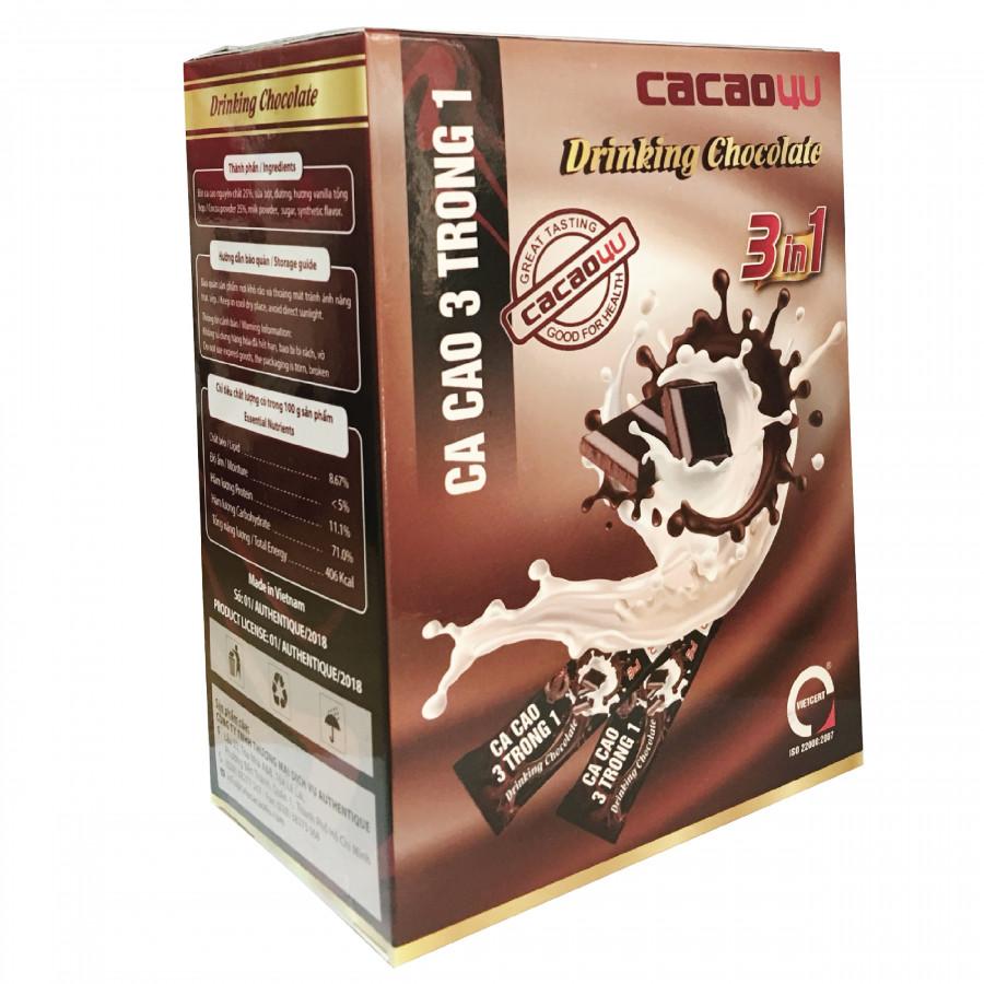 Bột Ca cao Drinking Chocolate - Cacao4U