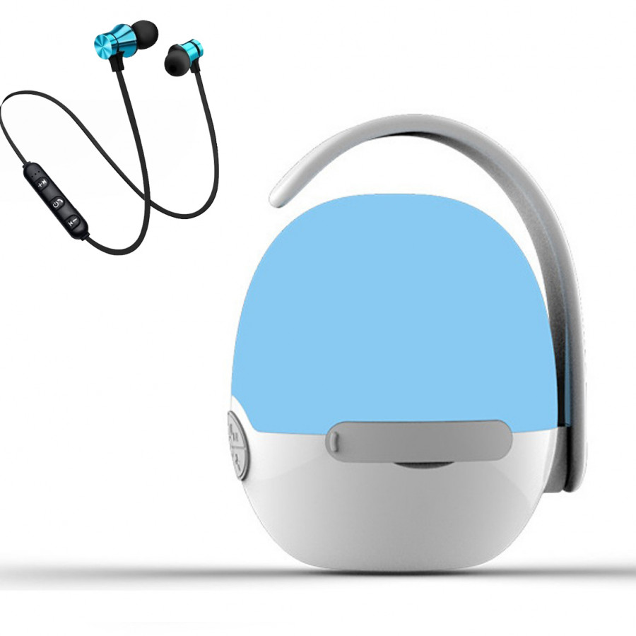 Loa nghe nhạc mini siêu trầm hình quả trứng hỗ trợ bluetooth, thẻ nhớ, kết nối đàm thoại + Tai nghe nhét tai... - 1611768 , 6566765124244 , 62_11085562 , 500000 , Loa-nghe-nhac-mini-sieu-tram-hinh-qua-trung-ho-tro-bluetooth-the-nho-ket-noi-dam-thoai-Tai-nghe-nhet-tai...-62_11085562 , tiki.vn , Loa nghe nhạc mini siêu trầm hình quả trứng hỗ trợ bluetooth, thẻ nhớ