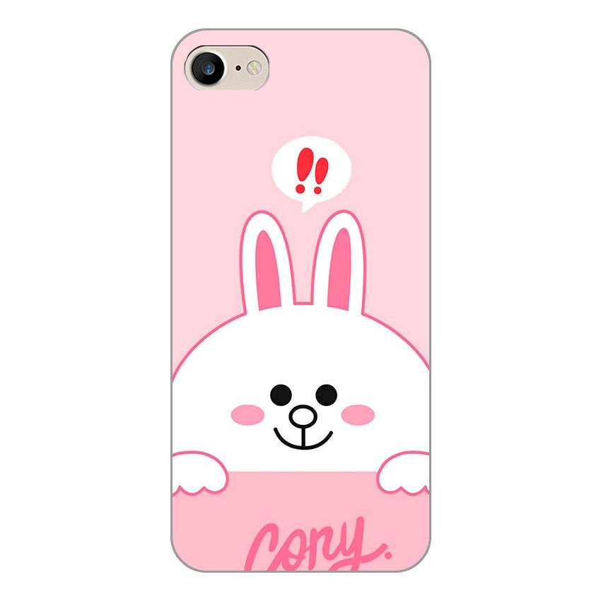 Ốp lưng dẻo cho Apple iPhone 7 _Thỏ Cony