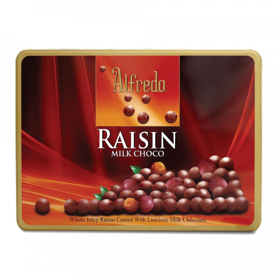 Kẹo Socola Raisin Alfredo - Đỏ (180g/Hộp)