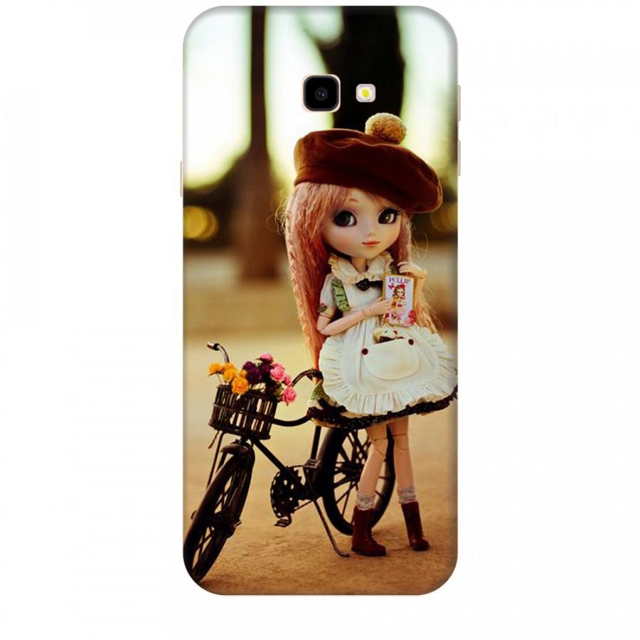 Ốp lưng dành cho điện thoại  SAMSUNG GALAXY J4 PLUS Baby anh Bicycle Mẫu 1