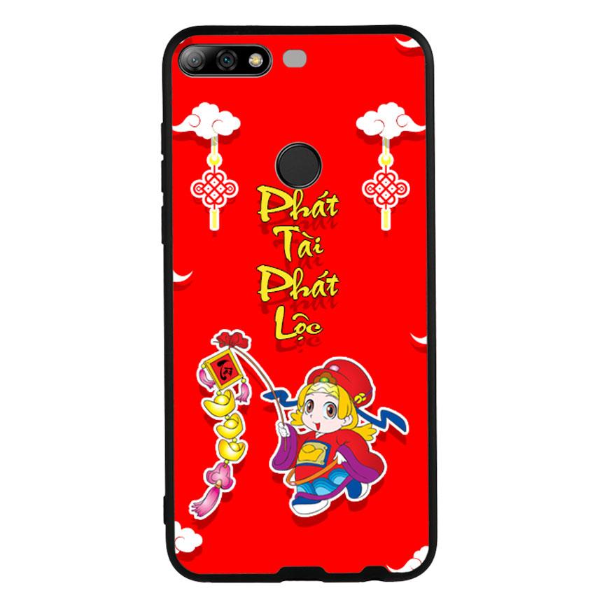 Ốp Lưng Viền TPU cho điện thoại Huawei Y7 Prime 2018 -Thần Tài 03