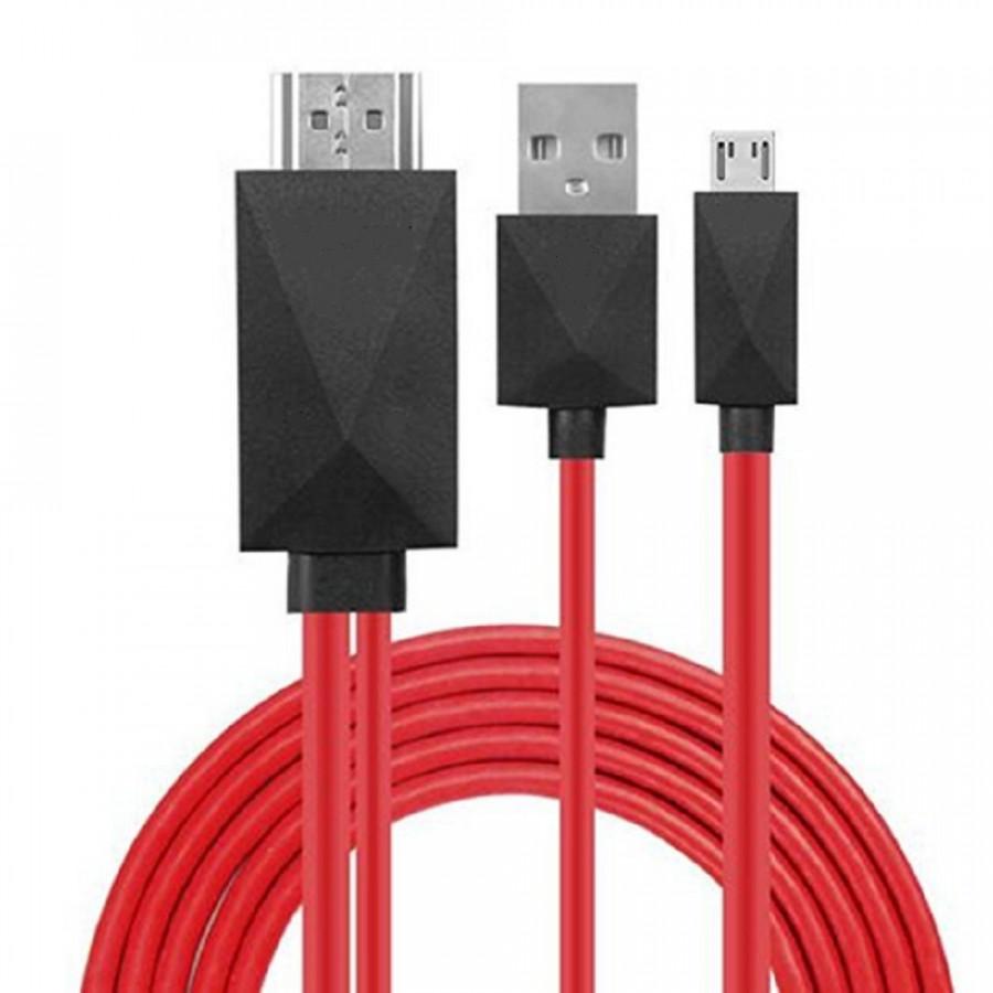 Micro USB MHL To HDMI AV HD TV Adapter Converter Cable Cord Lead For Phone - 2095118 , 2817681364950 , 62_12682546 , 323000 , Micro-USB-MHL-To-HDMI-AV-HD-TV-Adapter-Converter-Cable-Cord-Lead-For-Phone-62_12682546 , tiki.vn , Micro USB MHL To HDMI AV HD TV Adapter Converter Cable Cord Lead For Phone