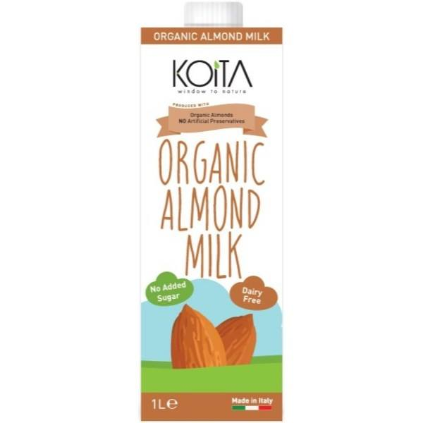 Sữa hạnh nhân hữu cơ koita (1Lít)