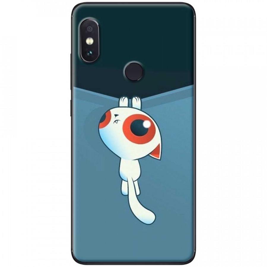 Ốp lưng dành cho Xiaomi Redmi Note 6 Pro mẫu Mèo kéo rèm