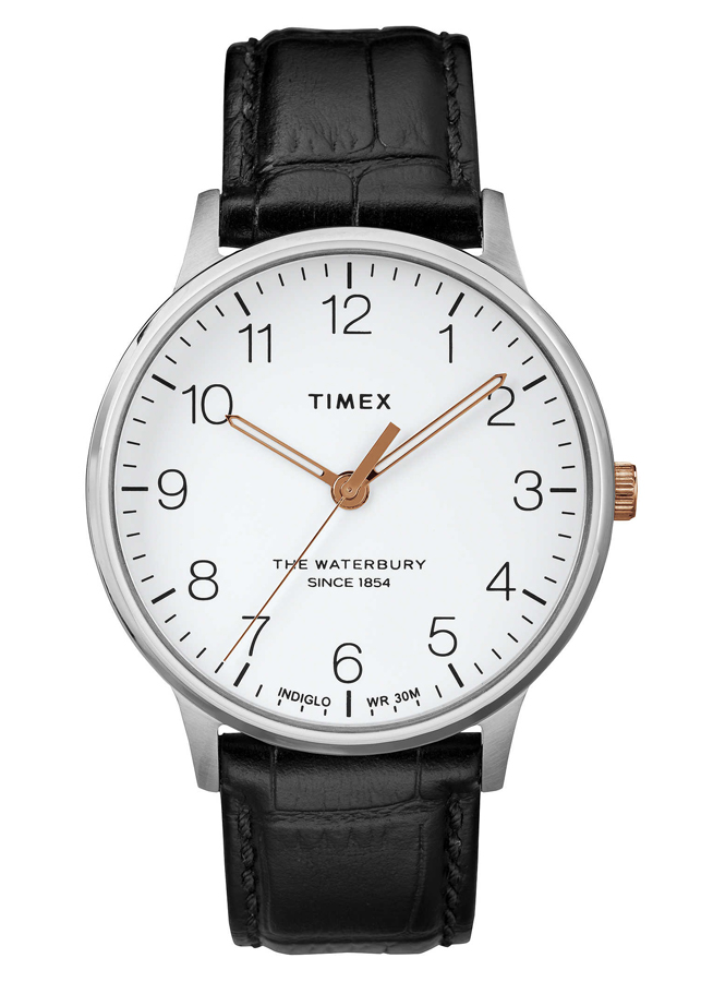Đồng Hồ Nam Dây Da Timex Waterbury Classic 40mm - TW2R71300