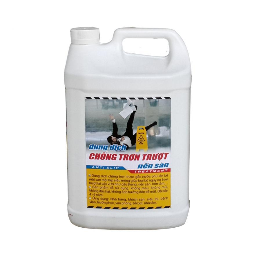 Dung dịch chống trơn trượt nền sàn KMG (Can 1 lít)