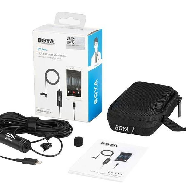 Micro thu âm cài áo BOYA BY-DM1 cổng Lightning cho Iphone Ipad - 806228 , 8502446761597 , 62_14419533 , 1400000 , Micro-thu-am-cai-ao-BOYA-BY-DM1-cong-Lightning-cho-Iphone-Ipad-62_14419533 , tiki.vn , Micro thu âm cài áo BOYA BY-DM1 cổng Lightning cho Iphone Ipad
