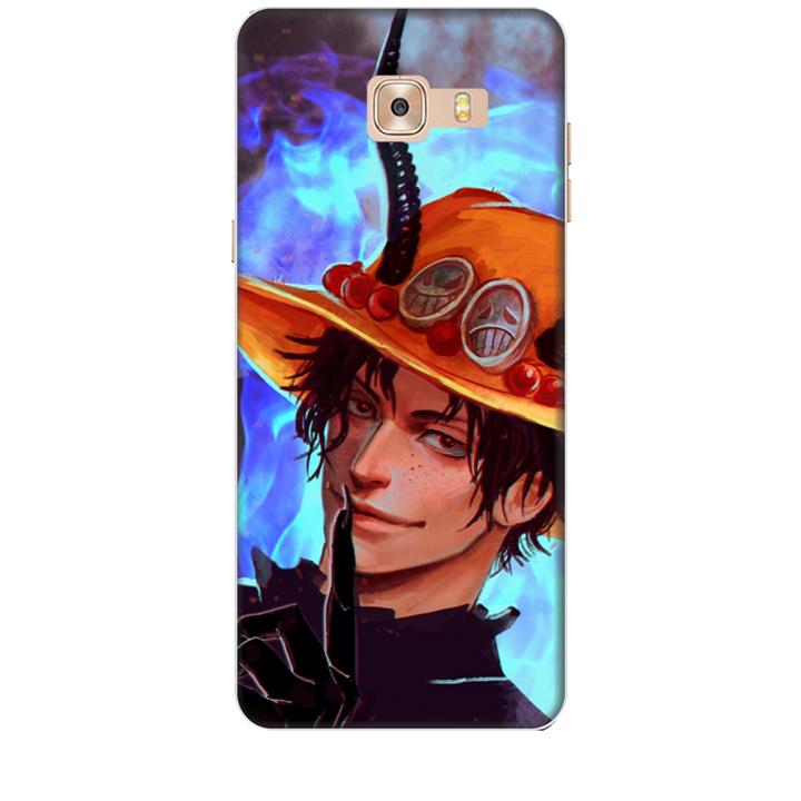 Ốp lưng nhựa cứng nhám dành cho Samsung Galaxy C9 Pro in hình One-Piece