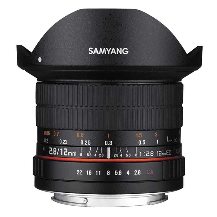 Ống Kính Samyang 12mm F2.8 ED AS NC Fisheye For Canon - Hàng Chính Hãng