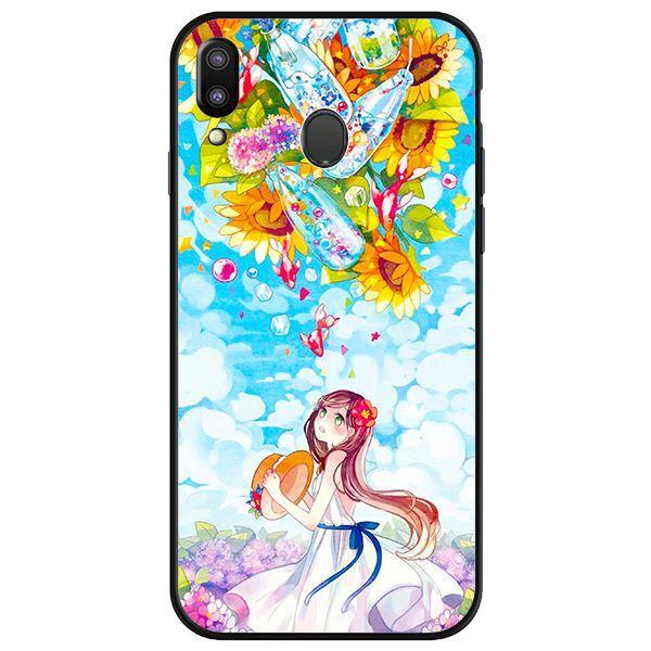 Ốp lưng dành cho điện thoại Samsung Galaxy M20 - Anime Cô Gái Hoa Hướng Dương