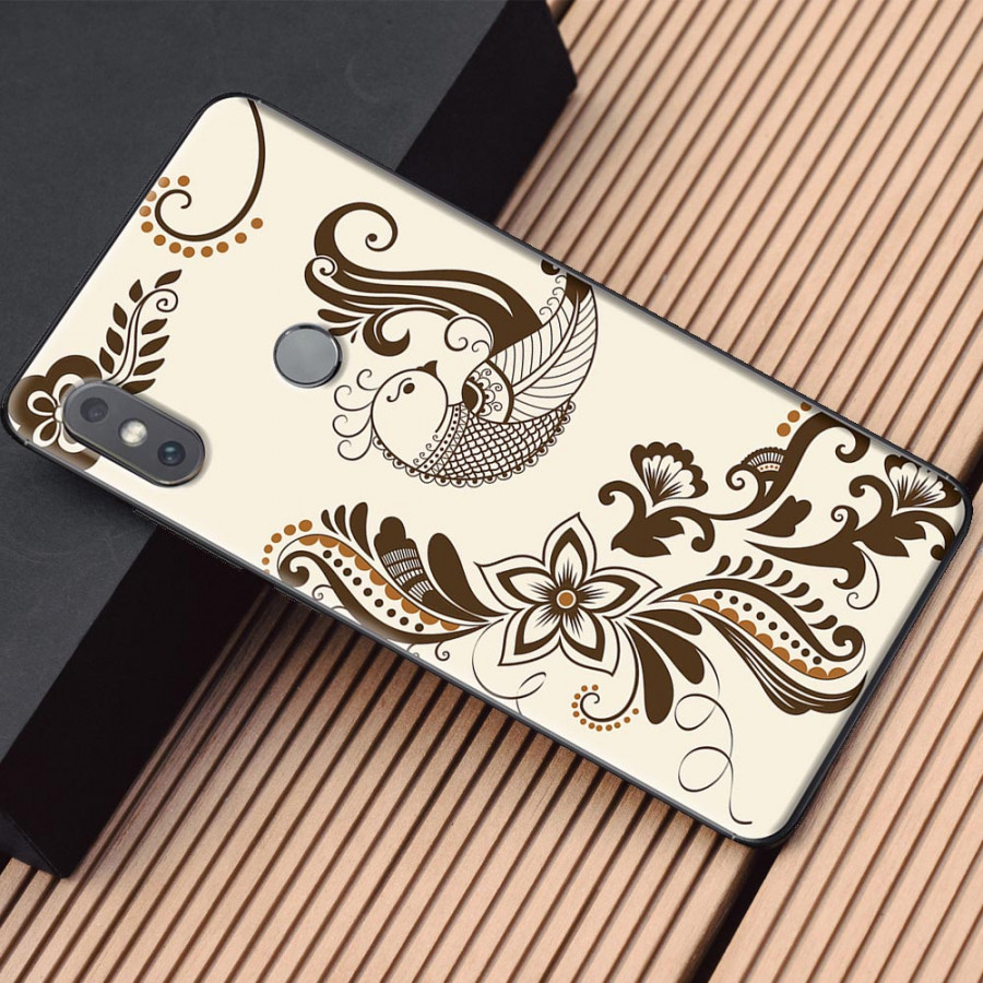 Ốp lưng dành cho Xiaomi Mi Mix 2S mẫu Họa mi