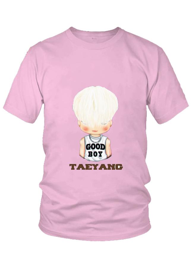 Áo thun nam thời trang cao cấp Taeyang Chibi nhóm BigBang  M6
