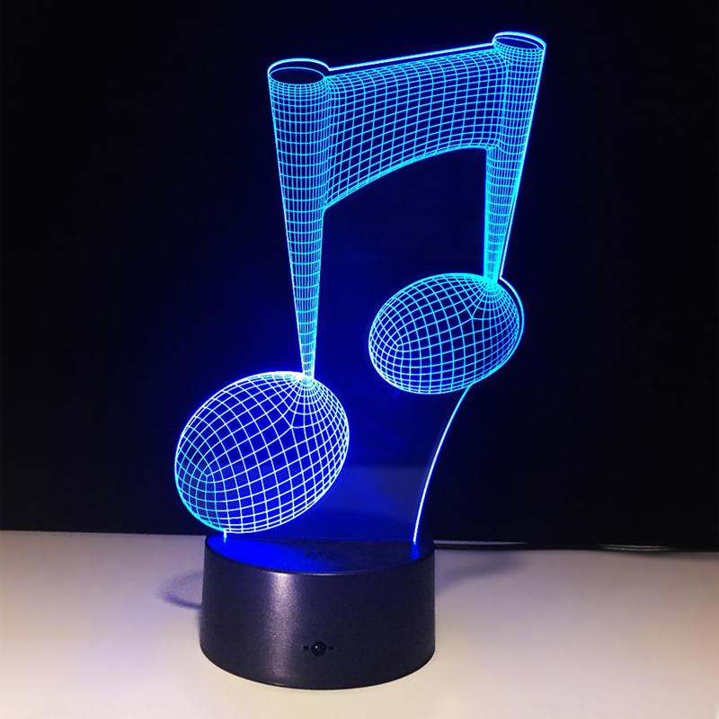 Đèn Ngủ Hình Nốt Nhạc 3D Thay Đổi 7 Màu - 1485588 , 4436536596605 , 62_11456553 , 495000 , Den-Ngu-Hinh-Not-Nhac-3D-Thay-Doi-7-Mau-62_11456553 , tiki.vn , Đèn Ngủ Hình Nốt Nhạc 3D Thay Đổi 7 Màu