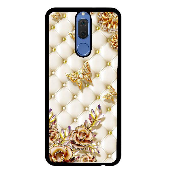 Ốp lưng dành cho điện thoại Huawei Nova 2i Bướm Vàng Giả Da