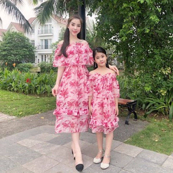 Set váy voan cho mẹ và bé gái - 15681853 , 2425202428151 , 62_17457094 , 400000 , Set-vay-voan-cho-me-va-be-gai-62_17457094 , tiki.vn , Set váy voan cho mẹ và bé gái