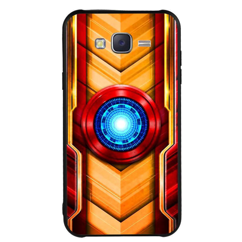 Ốp Lưng Viền TPU cho điện thoại Samsung Galaxy J7 2015 - Iron Man 01