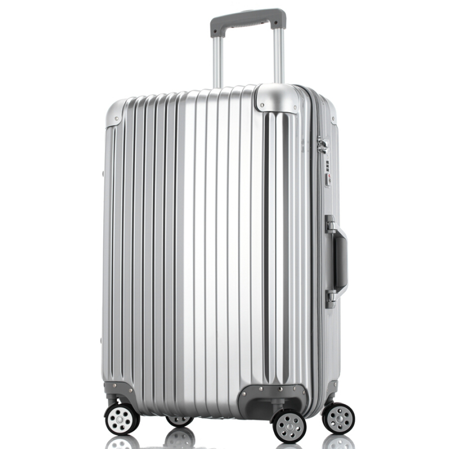 Vinson Paul (LinsonPaul) suitcase female 26-inch universal wheel trolley case ABS+PC large-capacity suitcase VP-161003 rose gold