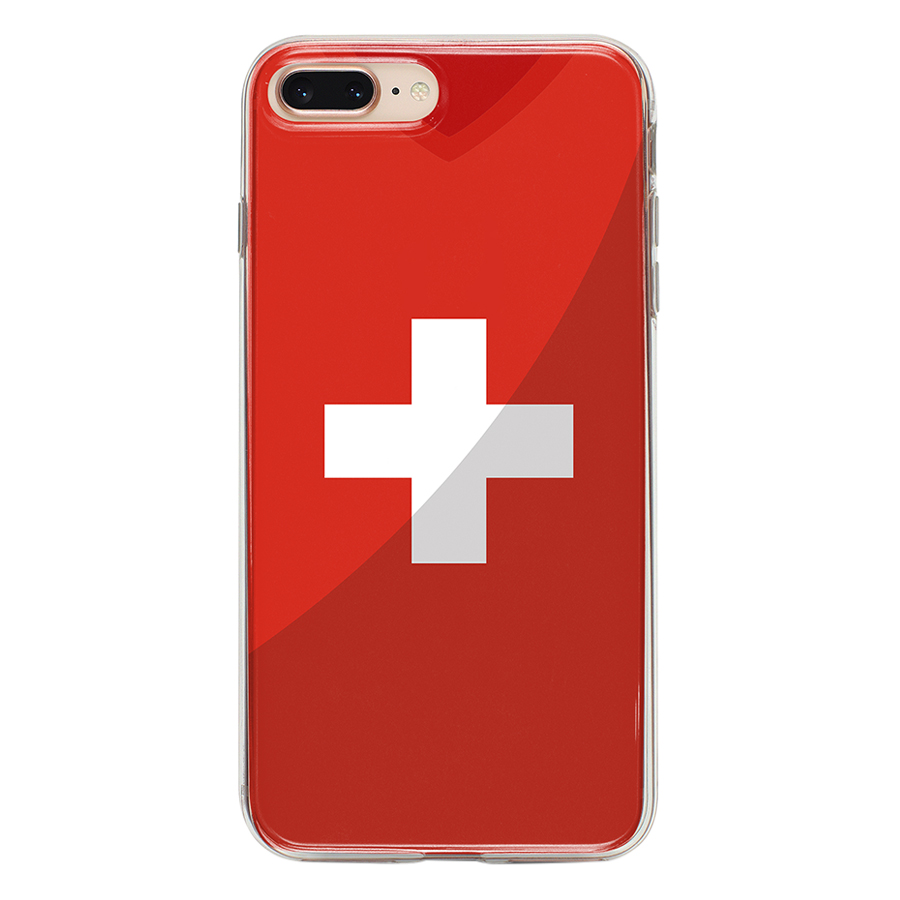 Ốp Lưng Mika Cho iPhone 7 Plus / 8 Plus SWITZERLAND-C-IP7P
