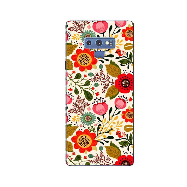 Ốp Lưng Dẻo Cho Điện thoại Samsung Galaxy Note 9 - Flower 04