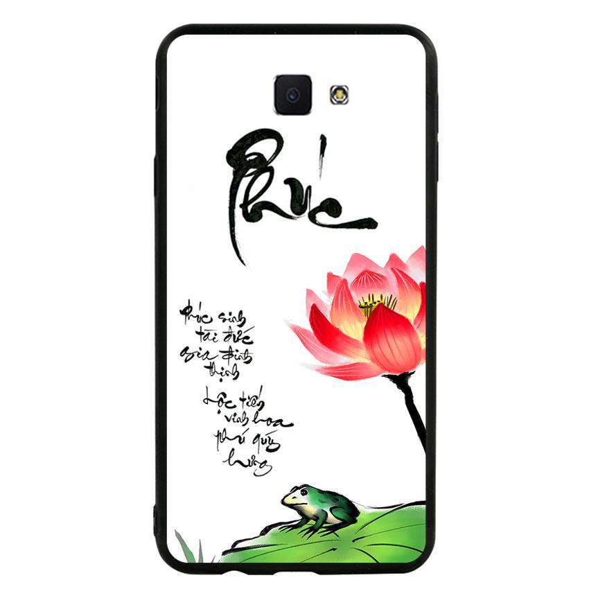 Ốp lưng nhựa cứng viền dẻo TPU cho điện thoại Samsung Galaxy J7 Prime - Phúc