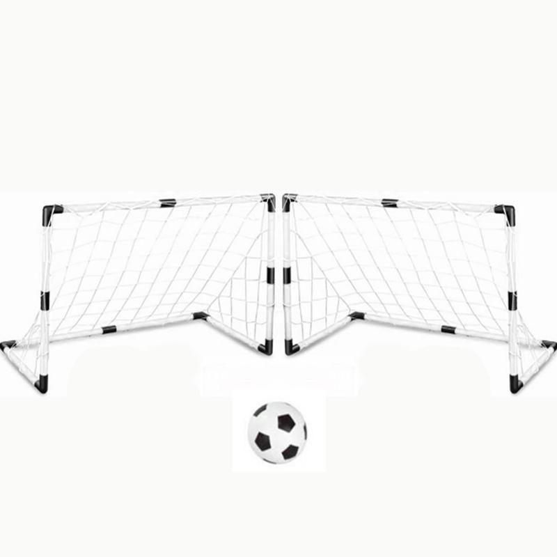 2 X Goal Nets SolidPeg Hook Sports DIY