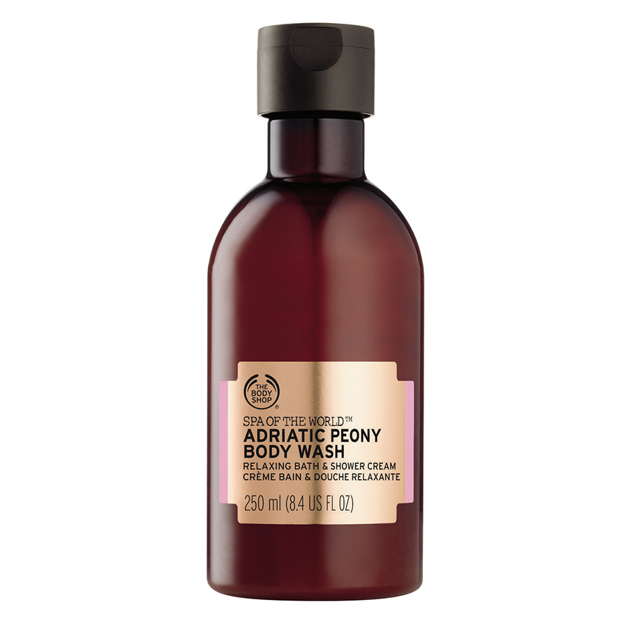 Kem Tắm The Body Shop Spa Of The World™ Adriatic Peony (250ml)