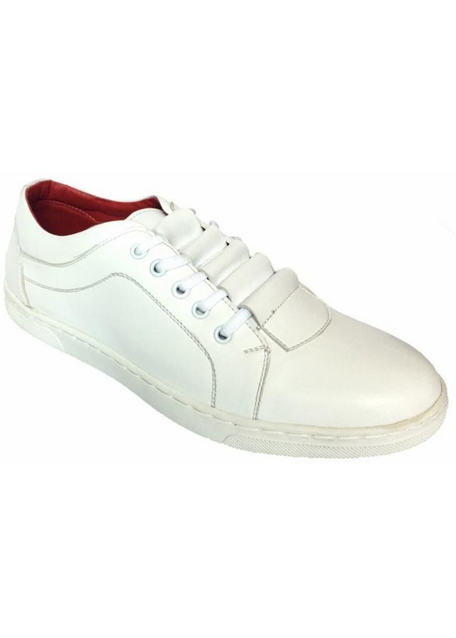 Giày Sneaker Thể Thao Nam G12 - Trắng