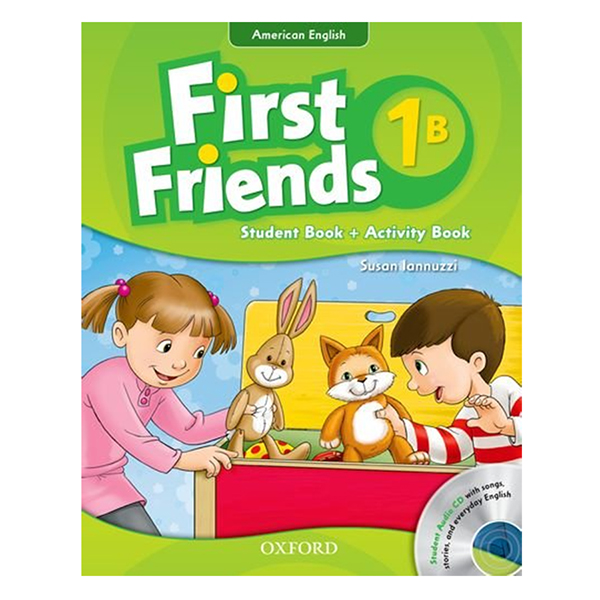 First Friends (AmE) 1: Student Book/Workbook B and Audio CD Pack
