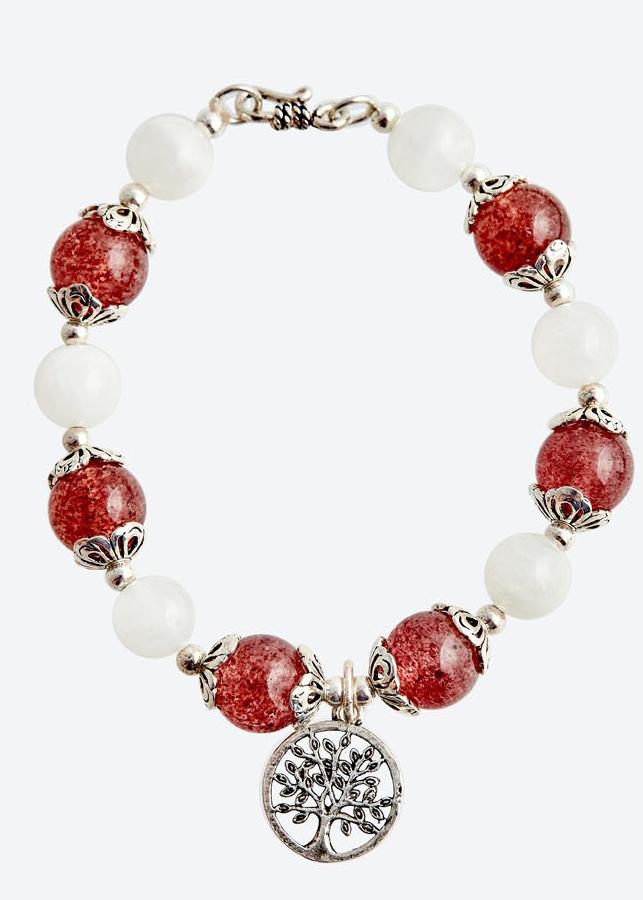 Vòng tay thạch anh dâu mix ưu linh trắng Ngọc Quý Gemstones - 6048158 , 5065567864583 , 62_8036392 , 1490000 , Vong-tay-thach-anh-dau-mix-uu-linh-trang-Ngoc-Quy-Gemstones-62_8036392 , tiki.vn , Vòng tay thạch anh dâu mix ưu linh trắng Ngọc Quý Gemstones