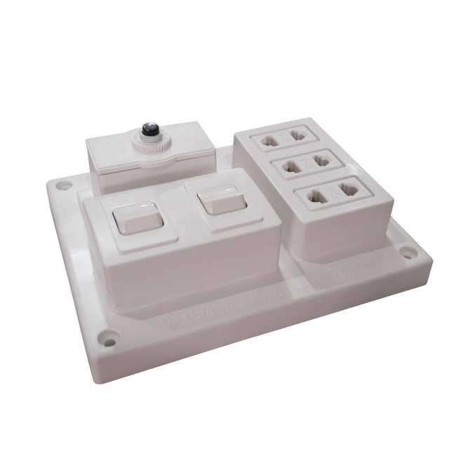 Bảng điện nổi 15A có 3 ổ cắm 2 công tắc LIOA B-CB15A2C - 1105624 , 8115206809325 , 62_4305979 , 107000 , Bang-dien-noi-15A-co-3-o-cam-2-cong-tac-LIOA-B-CB15A2C-62_4305979 , tiki.vn , Bảng điện nổi 15A có 3 ổ cắm 2 công tắc LIOA B-CB15A2C