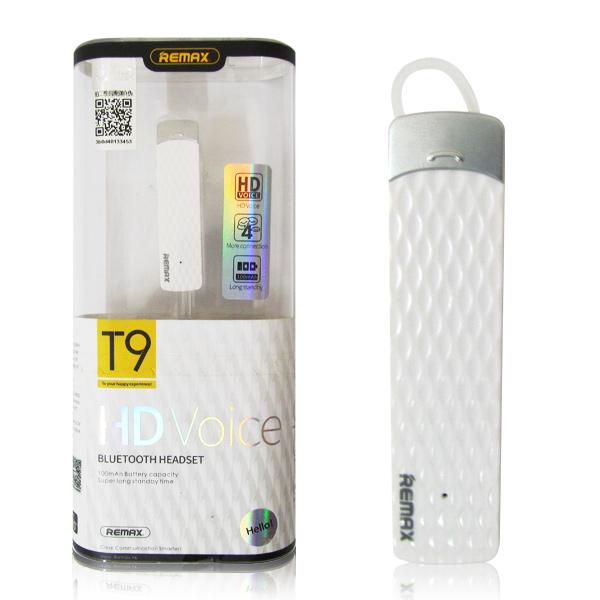 Tai nghe Bluetooth Remax RB-T9 - Trắng - Hàng chính hãng - 937753 , 3573728813612 , 62_5995357 , 315000 , Tai-nghe-Bluetooth-Remax-RB-T9-Trang-Hang-chinh-hang-62_5995357 , tiki.vn , Tai nghe Bluetooth Remax RB-T9 - Trắng - Hàng chính hãng