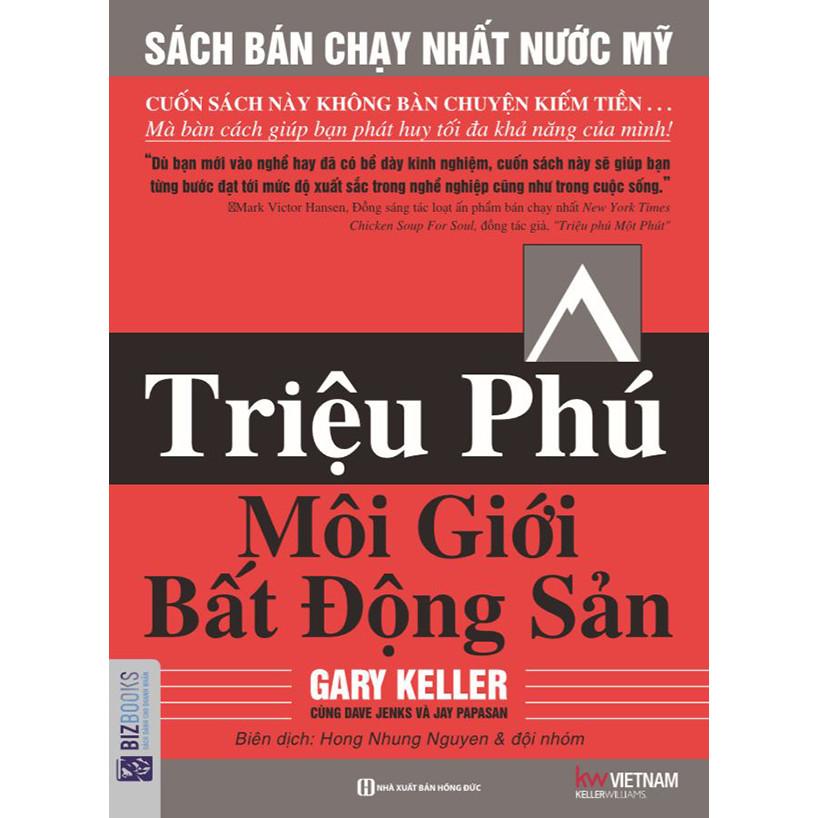Triệu Phú Môi Giới Bất Động Sản - Sách Đỏ của chuyên gia bất động sản khắp nơi trên thế giới (tặng kèm...