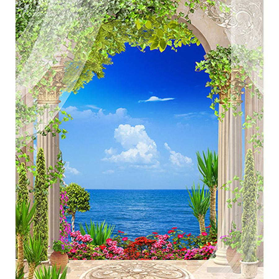 Tranh cửa sổ 3d| Tranh dán tường cửa sổ phong cảnh 3d 349 - 1218284 , 1737135019827 , 62_5186771 , 450000 , Tranh-cua-so-3d-Tranh-dan-tuong-cua-so-phong-canh-3d-349-62_5186771 , tiki.vn , Tranh cửa sổ 3d| Tranh dán tường cửa sổ phong cảnh 3d 349