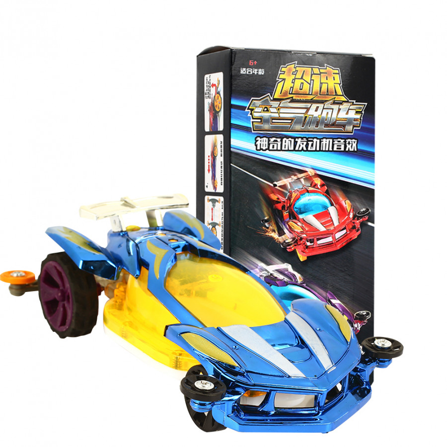 Toy Car Air Supercar Cool Engine Sound Plastic Educational Recreation