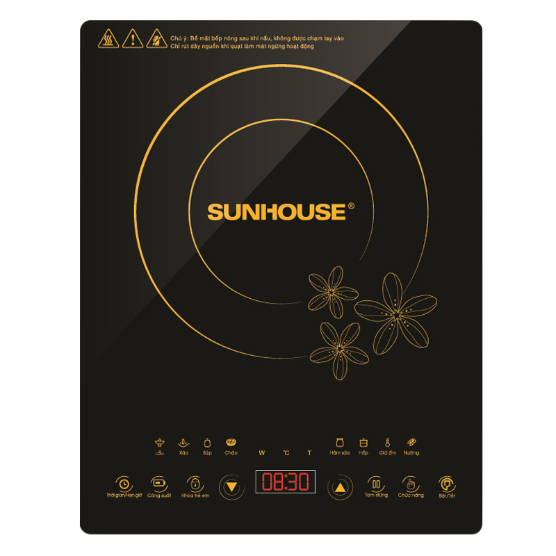 Bếp Điện Từ Sunhouse SHD6800 - Tặng Kèm Nồi Lẩu - 1994032225724,62_274106,1050000,tiki.vn,Bep-Dien-Tu-Sunhouse-SHD6800-Tang-Kem-Noi-Lau-62_274106,Bếp Điện Từ Sunhouse SHD6800 - Tặng Kèm Nồi Lẩu