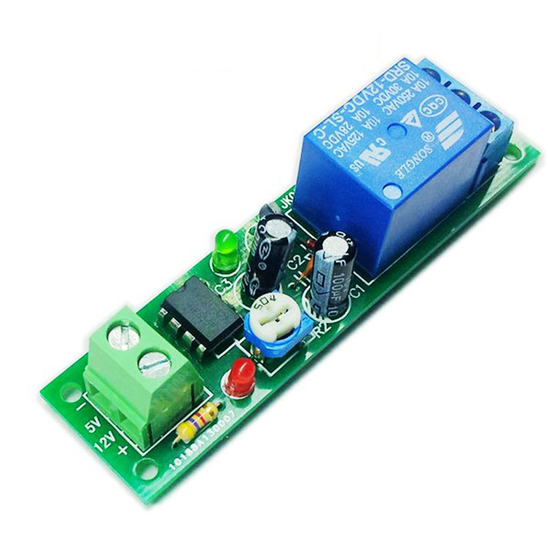 Module Tạo Trễ NE555 Đóng Cắt Relay 5VDC 60s