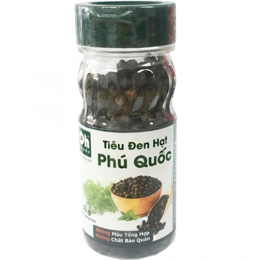 Tiêu đen hạt Phú Quốc 50gr Dh Foods