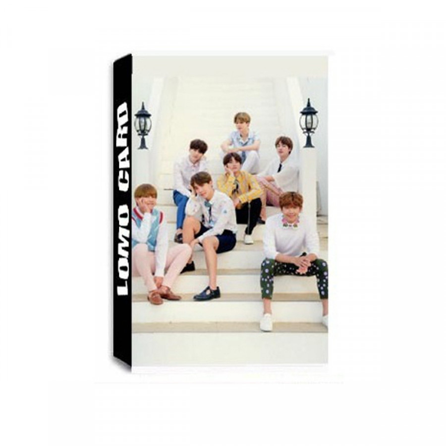 Lomo card BTS new tháng 4