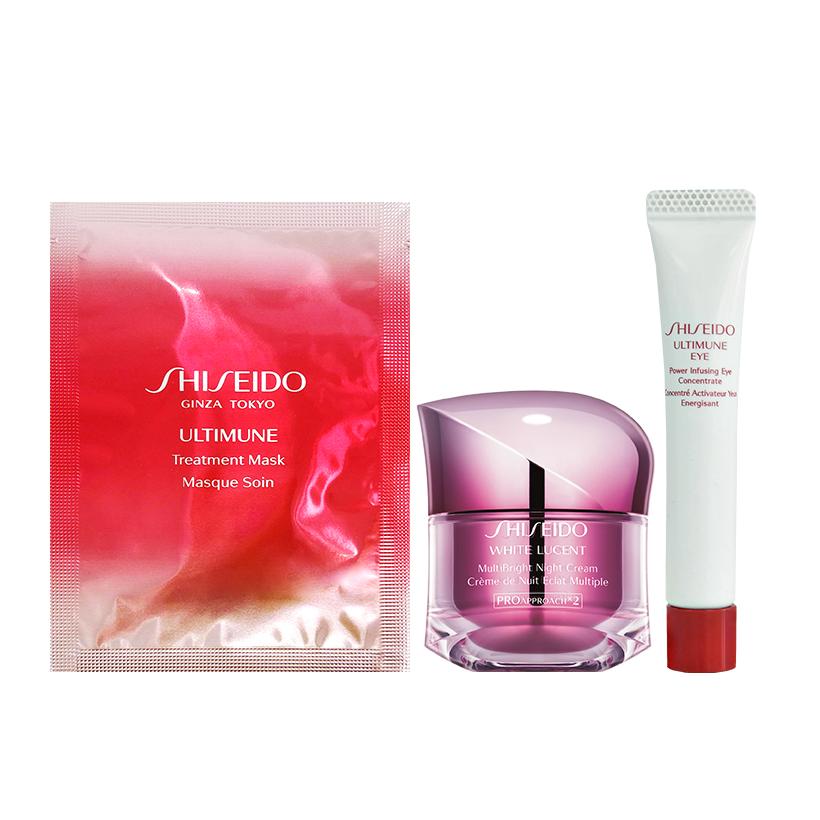 Bộ sản phẩm dưỡng trắng ban đêm Shiseido White Lucent Multibright Night Cream 50ml - 1540072 , 8358440367163 , 62_9793807 , 2600000 , Bo-san-pham-duong-trang-ban-dem-Shiseido-White-Lucent-Multibright-Night-Cream-50ml-62_9793807 , tiki.vn , Bộ sản phẩm dưỡng trắng ban đêm Shiseido White Lucent Multibright Night Cream 50ml