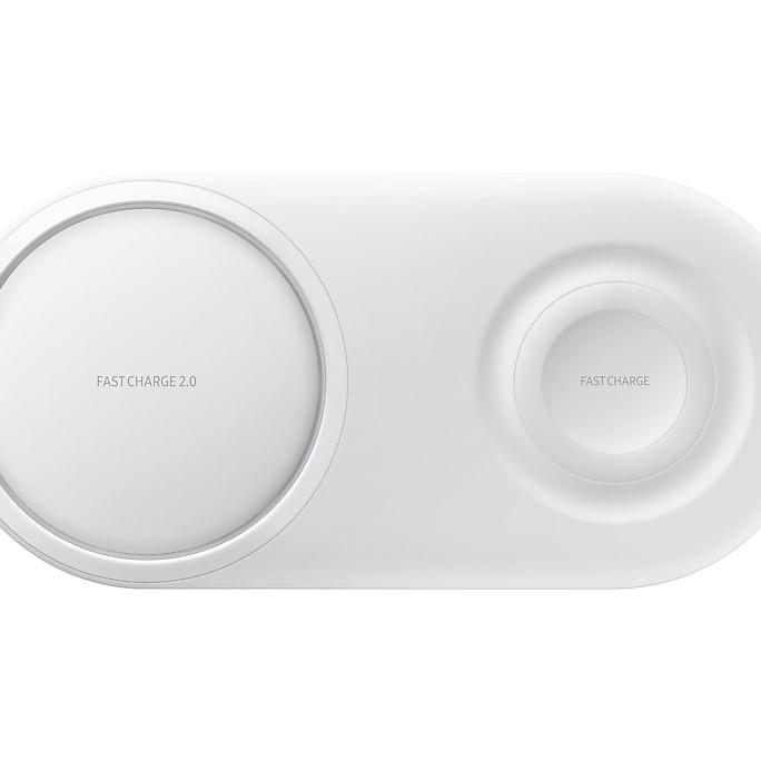Đế sạc đôi Samsung wireless Charger duo pad (2019) EP-P5200-hàng chính hãng