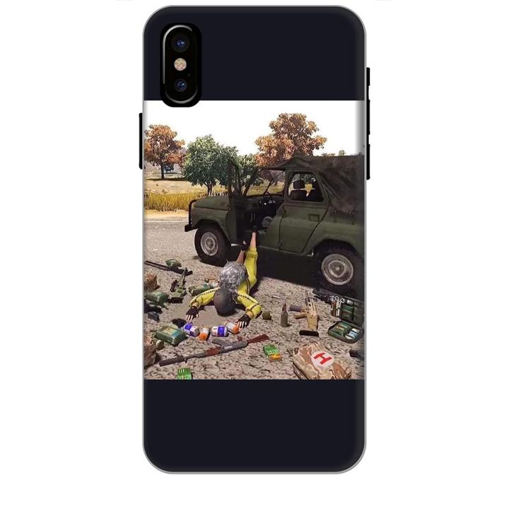 Ốp lưng dành cho điện thoại IPHONE XS MAX hinh PUBG Mẫu 03