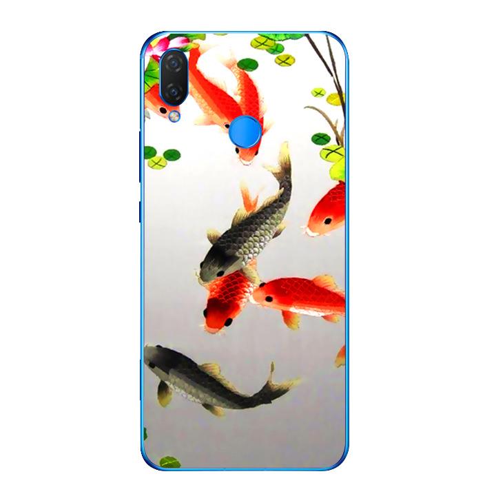 Ốp lưng dẻo cho điện thoại Huawei Y9 2019 - Fishes 03