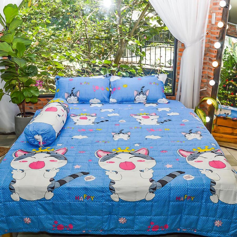 Bộ sản phẩm 5 món , đặc biệt chăn gối chần gòn vải cotton hoa P17 - 4814045 , 2943432634314 , 62_11024747 , 600000 , Bo-san-pham-5-mon-dac-biet-chan-goi-chan-gon-vai-cotton-hoa-P17-62_11024747 , tiki.vn , Bộ sản phẩm 5 món , đặc biệt chăn gối chần gòn vải cotton hoa P17