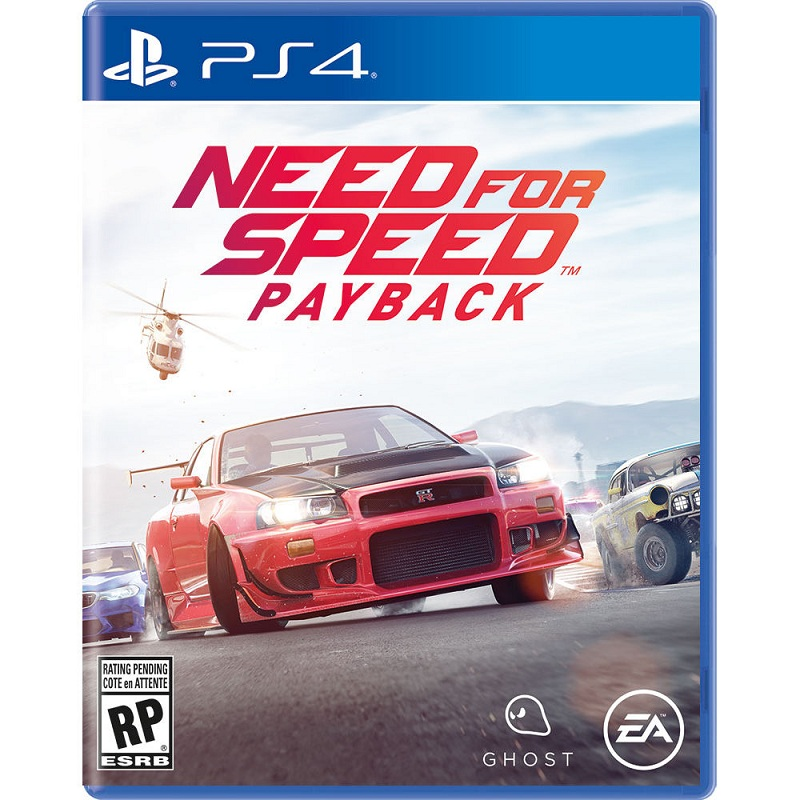 Đĩa Game Ps4: Need for speed Payback