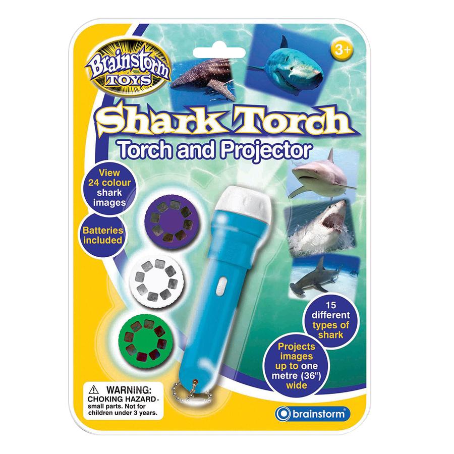 Đèn Pin Flashlight Brainstorm Chủ Đề Cá Mập Biển E2031