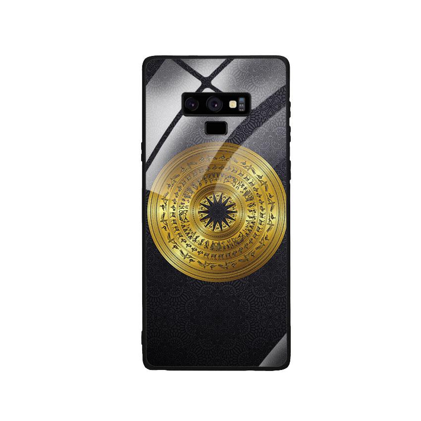 Ốp Lưng Kính Cường Lực cho điện thoại Samsung Galaxy Note 9 - Trống Đồng 05