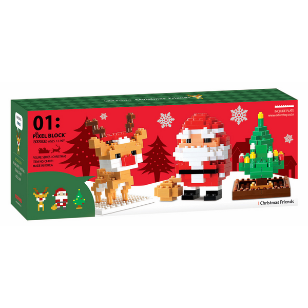 Đồ Chơi Lắp Ráp Oxford - Pixel Christmas Friends CF4071 (378 Mảnh Ghép) - 1040878 , 6959821209458 , 62_3218659 , 314000 , Do-Choi-Lap-Rap-Oxford-Pixel-Christmas-Friends-CF4071-378-Manh-Ghep-62_3218659 , tiki.vn , Đồ Chơi Lắp Ráp Oxford - Pixel Christmas Friends CF4071 (378 Mảnh Ghép)