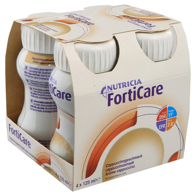 Sữa Forticare vị capuchino ( lốc 4 chai)